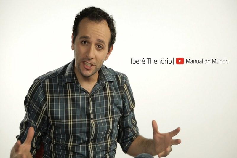 Iberê Thenório foi um dos convidados para o evento do Youtube que lançou playlist em módulos